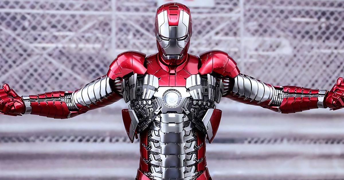 【ホットトイズ】1/6スケールフィギュア映画『アイアンマン2』アイアンマン・マーク5(ダイキャスト)